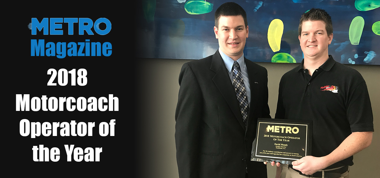 David & Jonathan Moody accept award from Metro Magazine