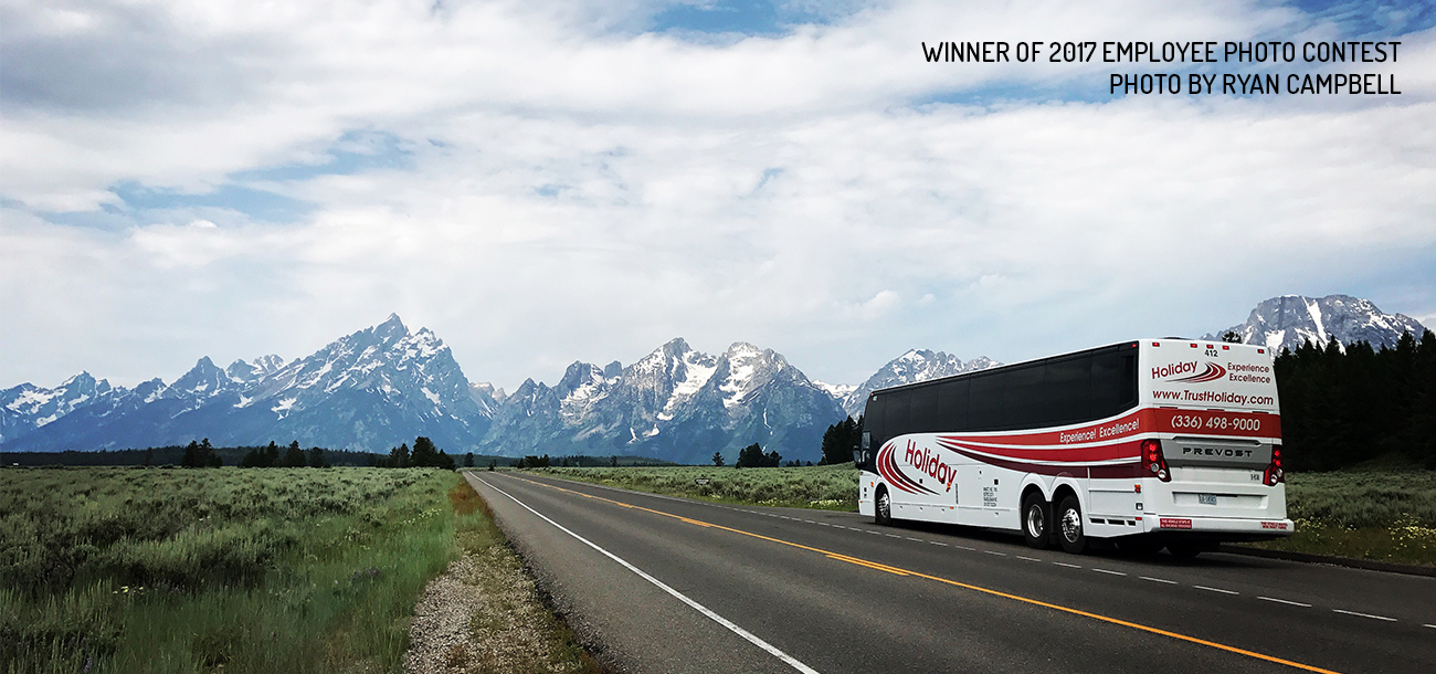 Employee Photo Contest Winner - Grand Teton Mountians